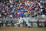 OMAHA, NE - JUNE 26: Brady Singer (51) of the University of Florida pitches against Louisiana State University during the Division I Men's Baseball Championship held at TD Ameritrade Park on June 26, 2017 in Omaha, Nebraska. The University of Florida defeated Louisiana State University 4-3 in game one of the best of three series. (Photo by Justin Tafoya/NCAA Photos via Getty Images)
