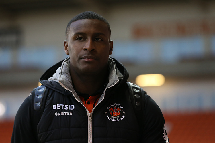 Blackpool players arrive prior to the kick-off<br /> <br /> Photographer Stephen White/CameraSport<br /> <br /> Emirates FA Cup Third Round - Blackpool v Arsenal - Saturday 5th January 2019 - Bloomfield Road - Blackpool<br />  <br /> World Copyright &copy; 2019 CameraSport. All rights reserved. 43 Linden Ave. Countesthorpe. Leicester. England. LE8 5PG - Tel: +44 (0) 116 277 4147 - admin@camerasport.com - www.camerasport.com<br /> <br /> Photographer Stephen White/CameraSport<br /> <br /> Emirates FA Cup Third Round - Blackpool v Arsenal - Saturday 5th January 2019 - Bloomfield Road - Blackpool<br />  <br /> World Copyright &copy; 2019 CameraSport. All rights reserved. 43 Linden Ave. Countesthorpe. Leicester. England. LE8 5PG - Tel: +44 (0) 116 277 4147 - admin@camerasport.com - www.camerasport.com