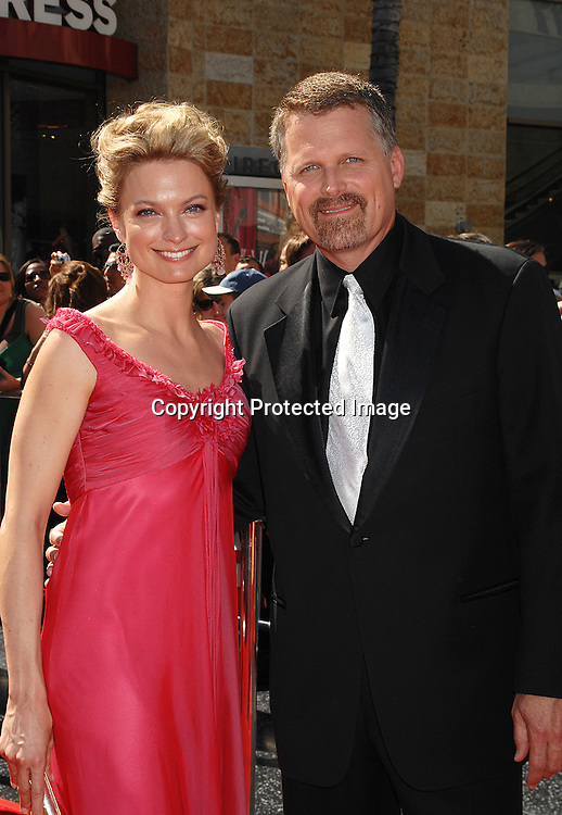 Nicole Forester and Robert Newman..arriving at The 34th Annual Daytime Emmy Awards on ..June 15, 2007 at The Kodak Theatre in Hollywood, California. ..Robin Platzer, Twin Images......212-935-0770