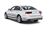 Car pictures of rear three quarter view of 2016 Audi A6 Competition 4 Door Sedan angular rear