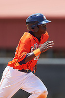 GCL Astros outfielder Daz Cameron (54) running the bases during a game against the GCL Braves on July 23, 2015 at the Osceola County Stadium Complex in Kissimmee, Florida.  GCL Braves defeated GCL Astros 4-2.  (Mike Janes/Four Seam Images)