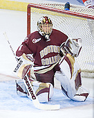 Cory Schneider - The Boston College Eagles defeated the Boston University Terriers 5-0 on Saturday, March 25, 2006, in the Northeast Regional Final at the DCU Center in Worcester, MA.