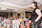 Writers Week : Author Joanne Harris addressing the audience a the Listowel Arms Hotel on Saturday last  during Writer Week.