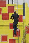 BEN EINE STENCIL STREET ARTIST MIDDLESEX LONDON EI