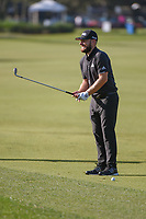 Tyrrell Hatton (ENG) prepares to hit his approach shot on 1 during round 3 of the Arnold Palmer Invitational at Bay Hill Golf Club, Bay Hill, Florida. 3/9/2019.<br /> Picture: Golffile | Ken Murray<br /> <br /> <br /> All photo usage must carry mandatory copyright credit (&copy; Golffile | Ken Murray)