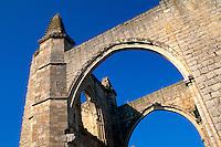 Klosterruine San Anton bei Castrojeriz, Kastilien-León, Spanien.