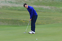 Sam Murphy (Portumna) on the 15th green during Round 2 of The East of Ireland Amateur Open Championship in Co. Louth Golf Club, Baltray on Sunday 2nd June 2019.<br /> <br /> Picture:  Thos Caffrey / www.golffile.ie<br /> <br /> All photos usage must carry mandatory copyright credit (© Golffile   Thos Caffrey)