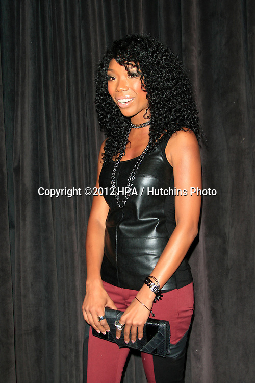 """LOS ANGELES - AUG 28:  Brandy Norwood arrives at """"You, Me & The Circus"""" Premiere at SupperClub on August  28, 2012 in Los Angeles, CA"""