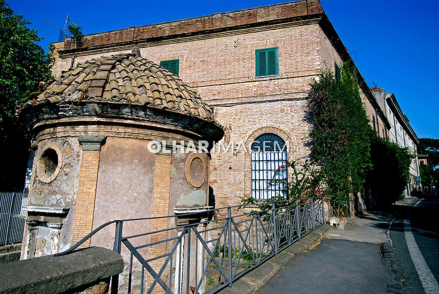 Mausoléu de Santa Cecilia na Via Appia. Roma. Itália. 2006. Foto de Luciana Whitaker.