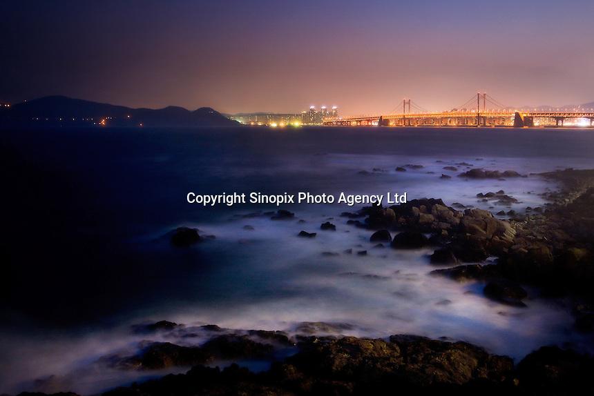Gwangan Bridge Busan, South Korea<br /> <br /> Photo portfolio of Kim  / Sinopix
