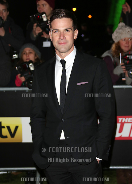 Gethin Jones arriving for the Night of Heroes: The Sun Military Awards 2012 held at the Imperial War Museum, london, 06/12/2012 Picture by: Henry Harris / Featureflash