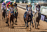 November 1, 2019: Tap Back, ridden by Victor Espinoza, wins the Golden State Juvenile on Breeders' Cup World Championship Friday at Santa Anita Park on November 1, 2019: in Arcadia, California. Michael McInally/Eclipse Sportswire/CSM