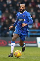 Josh Parker of Gillingham in action during Gillingham vs Peterborough United, Sky Bet EFL League 1 Football at the MEMS Priestfield Stadium on 10th February 2018