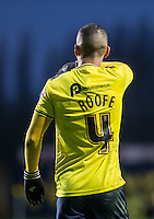 Kemar Roofe of Oxford United during the Sky Bet League 2 match between Oxford United and Bristol Rovers at the Kassam Stadium, Oxford, England on 17 January 2016. Photo by Andy Rowland / PRiME Media Images.