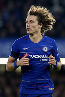 David Luiz of Chelsea during Chelsea vs Crystal Palace, Premier League Football at Stamford Bridge on 4th November 2018