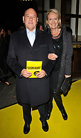 Claude Littner and Thelma Littner at the &quot;Glengarry Glen Ross&quot; press night, Playhouse Theatre, Northumberland Avenue, London, England, UK, on Thursday 09 November 2017.<br /> CAP/CAN<br /> &copy;CAN/Capital Pictures
