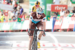 Dorian Godon (FRA) AG2R La Mondiale finishes in 3rd place at the end of Stage 6 of La Vuelta 2019 running 198.9km from Mora de Rubielos to Ares del Maestrat, Spain. 29th August 2019.<br /> Picture: Colin Flockton | Cyclefile<br /> <br /> All photos usage must carry mandatory copyright credit (© Cyclefile | Colin Flockton)