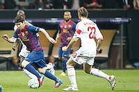 MILANO 28 MARZO 2012, MILAN - BARCELLONA,QUARTI DI FINALE UEFA CHAMPIONS LEAGUE 2011 - 2012, NELLA FOTO:MESSI , FOTO DI ROBERTO TOGNONI.