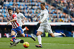 Real Madrid´s Cristiano Ronaldo during 2015/16 La Liga match between Real Madrid and Sporting de Gijon at Santiago Bernabeu stadium in Madrid, Spain. January 17, 2015. (ALTERPHOTOS/Victor Blanco)