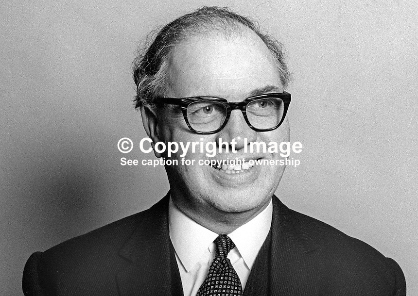 John A Young, Town Solicitor, Belfast, N Ireland, UK, June, 1971, 197106000069a<br />