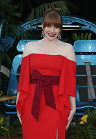 LOS ANGELES, CA - JUNE 12: Bryce Dallas Howard at Jurassic World: Fallen Kingdom Premiere at Walt Disney Concert Hall, Los Angeles Music Center in Los Angeles, California on June 12, 2018. Credit: Faye Sadou/MediaPunch