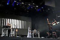 Clean Bandit Perform during The New Look Wireless Music Festival at Finsbury Park, London, England on Sunday 05 July 2015. Photo by Andy Rowland.