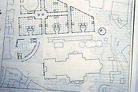 London: Paternoster Square Schemes--James Stirling, Michael Wilford Assoc. First floor Plan, offices.   Reference only.