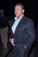 "LOS ANGELES - FEB 5:  Arnold Schwarzenegger at the ""The 15:17 To Paris"" World Premiere at the Warner Brothers Studio on February 5, 2018 in Burbank, CA"