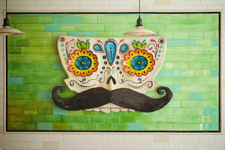 NEW YORK, NY - April 14, 2016: Tacuba, the recently opened Mexican restaurants from chef Julian Medina and the Toloache Restaurant Group.<br /> <br /> CREDIT: Clay Williams for Gothamist.<br /> <br /> &copy; Clay Williams / claywilliamsphoto.com