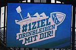 10.03.2018, Vonovia Ruhrstadion, Bochum, GER, 2.FBL., VfL Bochum vs. Holstein Kiel<br /> im Bild / picture shows: <br /> das Saisonziel der Bochumer <br /> <br /> <br /> <br /> Foto &copy; nordphoto / Meuter