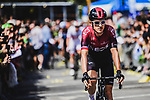 Geraint Thomas (WAL) Team Ineos arrives at sign on before Stage 4 of the 2019 Tour de France running 213.5km from Reims to Nancy, France. 9th July 2019.<br /> Picture: ASO/Pauline Ballet | Cyclefile<br /> All photos usage must carry mandatory copyright credit (© Cyclefile | ASO/Pauline Ballet)