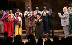 Jennifer Hudson, Cynthia Erivo, Allee Willis, Marsha Norman, Alice Walker, John Doyle with cast during the Broadway Opening Night Performance Curtain Call for 'The Color Purple' at the Bernard B. Jacobs Theatre on December 10, 2015 in New York City.