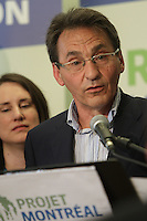 August , 2013 File Photo  -  Richard Bergeron, leader, Projet Montreal and candidate in the 2013 Municipal elections