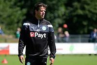 HAREN - Voetbal, Eerste Training FC Groningen  sportpark de Koepel, 01-07-2017,  FC Groningen trainer Ernest Faber