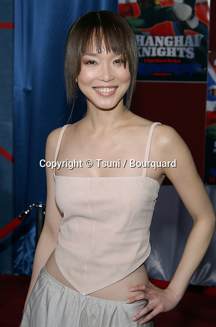 Fann Wong arriving at the premiere of SHANGHAI KNIGHT premiere at the El Captain in Los Angeles. February 2, 2003          -            WongFann36.jpg