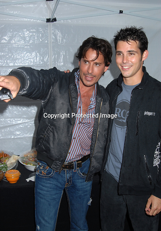 """Ricky Paull Goldin and Jason Cook ..at The """"Love Games"""" Competition to see who is the ..Next Spokesperson for """"I Can't Believe It's Not Butter"""" ..on June 7, 2006 at Madison Square Park. ..Robin Platzer, Twin Images"""