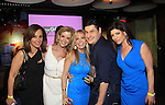 Rosanna Scotto (Good Day NY) and Jane Hanson, , Rob Shuter (host of The Gossip Table and lady from WPIX at Launch Party  to celebrate our new VH1 morning show beginning June 3 - party was on May 30, 2013 at Catch Roof, New York City, New York. (Photo by Sue Coflin/Max Photos)