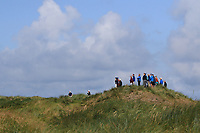 Charlie Denvir (Elm Park) on the 14th tee during Matchplay Semi-Finals of the AIG Irish Amateur Close Championship 2019 in Ballybunion Golf Club, Ballybunion, Co. Kerry on Wednesday 7th August 2019.<br /> <br /> Picture:  Thos Caffrey / www.golffile.ie<br /> <br /> All photos usage must carry mandatory copyright credit (© Golffile | Thos Caffrey)