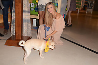 LOS ANGELES, CA - OCTOBER 18: Joanna Krupa at a press conference to celebrate the passing of Bill 485 banning the selling of pets in retail outlets at the Healthy Spot in Los Angeles, California on October 18, 2017. Credit: David Edwards/MediaPunch /NortePhoto.com