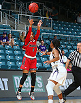 KATY, TX MARCH 10: Southland Conference Women's Basketball Championship Game Stephen F. Austin v Nicholls at Merrell Center in Katy on March 10, 2018 in Katy, Texas Photo: Rick Yeatts