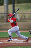 Cincinnati Reds J.D. Salmon-Williams (58) during an instructional league game against the Los Angeles Dodgers on October 20, 2015 at Cameblack Ranch in Glendale, Arizona.  (Mike Janes/Four Seam Images)