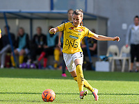 20190813 - DENDERLEEUW, BELGIUM : LSK's Emilia Ruud pictured during the female soccer game between the Greek PAOK Thessaloniki Ladies FC and the Norwegian LSK Kvinner Fotballklubb Ladies , the third and final game for both teams in the Uefa Womens Champions League Qualifying round in group 8 , Tuesday 13 th August 2019 at the Van Roy Stadium in Denderleeuw  , Belgium  .  PHOTO SPORTPIX.BE for NTB | DAVID CATRY