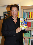 """The Young and The Restless Sean Kanan """"Deacon"""" held a book signing on September 15, 2011 for his new book """"The Modern Gentleman - Cooking and Entertaining with Sean Kanan"""" at the Drama Book Shop, New York City, New York. """"Don't just set the table, set the mood.""""  In this book """"Sean Kanan, author, actor, producer and self-taught chef offers expert field-tested instruction on how any guy can become a refined, knowledgeable chef."""" (Photo by Sue Coflin/Max Photos)"""