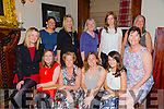Staff leaving party for Lucy Harvey who is leaving Rehab Care Blennerville  after 7yrs service at the Grand Hotel on Saturday. Pictured Front l-r Carmel Griffin,  Mary Goodall, Rita Coffey, Lucy Harvey and Aishling Geoghegan.  Fiona Conway, Back l-r Jean O'Donoghue, Joanne Nelligan, Helen Lyons, Ciara Mulcahy and Julia Hennessy.