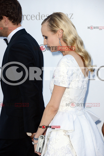 Diane Kruger (in Chanel) and Joschua Jackson attending the 2012 amfAR Cinema Against AIDS Gala at Hotel du Cap-Eden-Roc in Antibes, France on 24.5.2012. Credit: Timm/face to face / Mediapunchinc / Mediapunchinc / Mediapunchinc