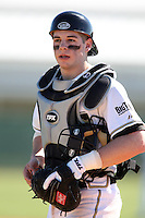 February 26, 2010:  Catcher Kevin Plawecki of the Purdue Boilermakers during the Big East/Big 10 Challenge at Raymond Naimoli Complex in St. Petersburg, FL.  Photo By Mike Janes/Four Seam Images