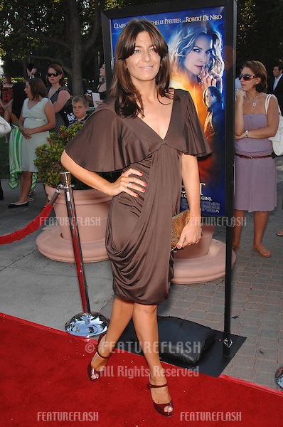 "TV presenter Claudia Winkleman at the Los Angeles premiere of ""Stardust"" at Paramount Studios, Hollywood..July 30, 2007  Los Angeles, CA.Picture: Paul Smith / Featureflash"