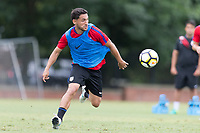 Nashville, TN - July 4, 2017: Cristian Roldan during Training @ Lipscomb University prior to their 2017 Gold Cup.