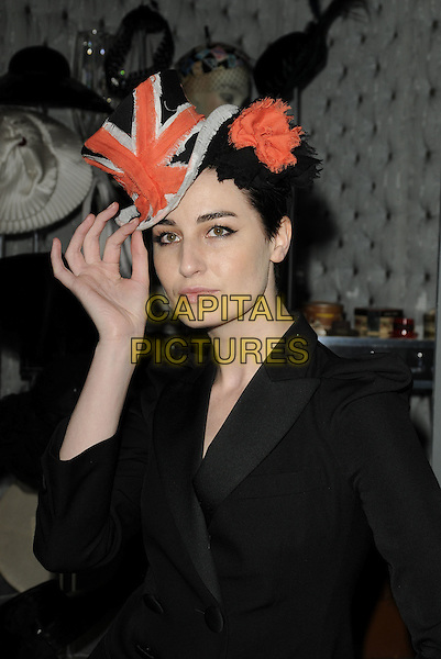The  quot Hats  An Anthology by Stephen Jones quot  photocall ... 6d12b0ea521