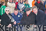 INFORMATION; Chairing the Information meeting on Kerry MEETING: On Thursday at Pat Kennedy Park.Soccer grounds were l-r: l-r: Betrice Carmody, Aidan O'Connor, Jack O'Connor and John Delaney(FAI). ..   Copyright Kerry's Eye 2008